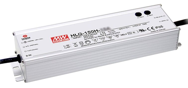 LED VOEDING MEANWELL 24V 151.2W 6.3A IP65
