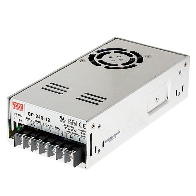LED VOEDING MEANWELL 24V 240W 10A
