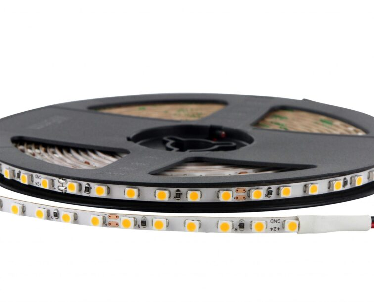 LED STRIP 4mm 120 LEDS / meter 9.6W / meter 720 lm/meter