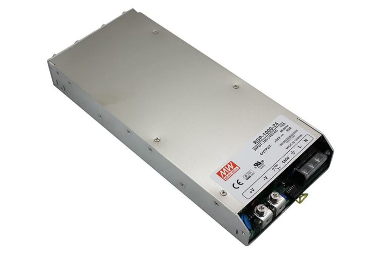 LED VOEDING MEANWELL 24V 960W 40A
